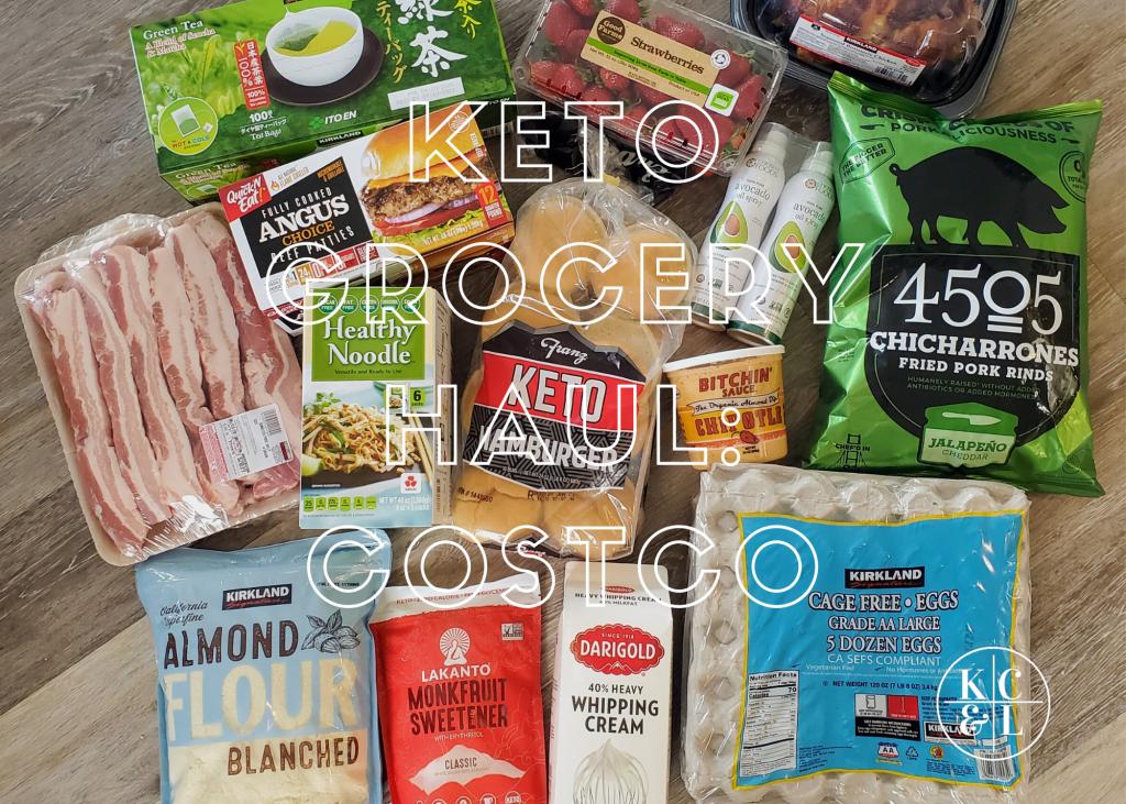 Mini Keto Grocery Haul Costco